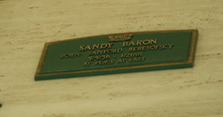 Sandy Irving Baron