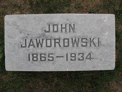 John (Javoroski) Jaworowski, Sr