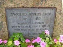 Constance <i>Hopkins</i> Snow
