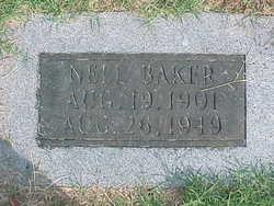 Nell <i>Burks</i> Baker
