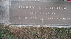 Harry L Bingham