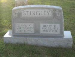 Minnie Alice <i>Hess</i> Stingley
