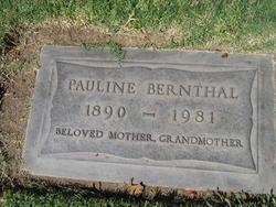 Pauline Berthaida <i>Dietrich</i> Bernthal