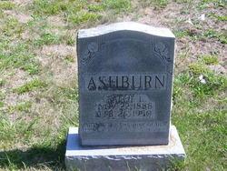 Sallie L <i>Bilbrey</i> Ashburn
