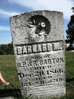 Barnard M Barton