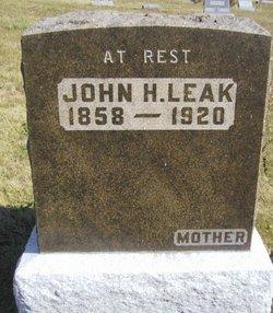 John H Leak