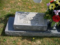 Vallie Lee <i>Kirk</i> Thompson