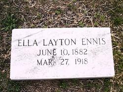 Ella <i>Layton</i> Ennis