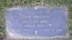 Guy Brown