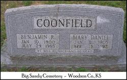 Mary <i>Daniel</i> Coonfield