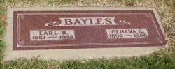 Earl R Bayles