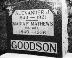 Mariah Francis <i>Mathews</i> Goodson