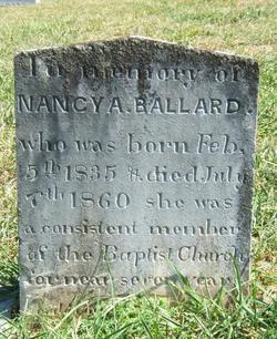 Nancy A Ballard