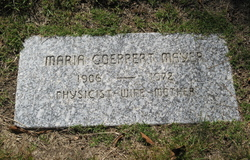 Maria <i>Goeppert</i> Mayer