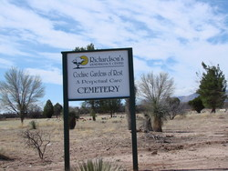 Cochise Gardens of Rest Cemetery