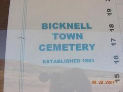 Bicknell Cemetery