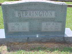 Rev Hardy H Herrington