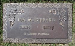Ida Mary Gibbard