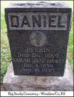 Sarah Jane <i>Bowman</i> Daniel