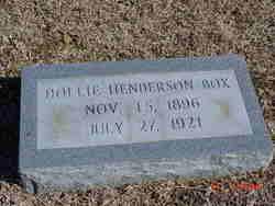 Dollie <i>Henderson</i> Box