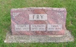 Emma <i>Fultz</i> Fry
