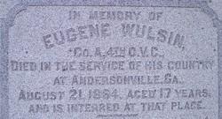 Pvt Eugene Wulsin