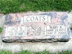 Mary Ann <i>Hayes</i> Coats