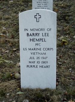 PFC Barry Lee Hempel