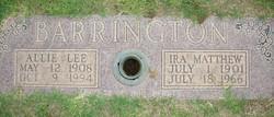 Ira Matthew Barrington