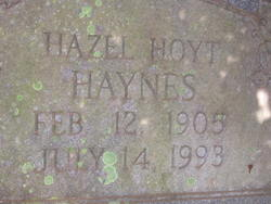 Hazel <i>Hoyt</i> Haynes