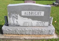 Garnett R <i>Cotner</i> Albright