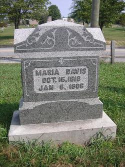 Maria <i>Newham</i> Davis