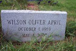 Wilson Oliver April