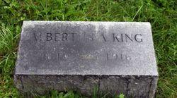Albertus A. King