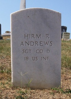 Pvt Hiram R. Andrews
