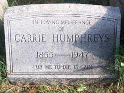 Caroline Meriwether Carrie Humphreys