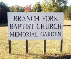 Branch Fork Baptist Church Memorial Garden