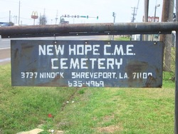 New Hope CME Cemetery