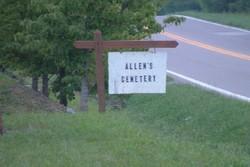 John The Bricklayer Allen Family Cemetery