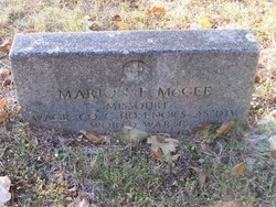 Marion Francis McGee