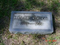Lemmie H Crofoot