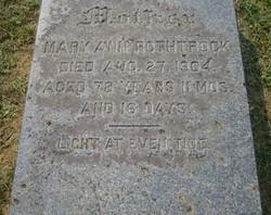 Mary Ann <i>Hess</i> Rothrock