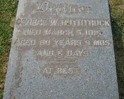 George W Rothrock