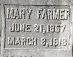 Mary <i>Minor</i> Farmer