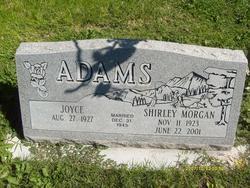 Shirley Morgan Adams