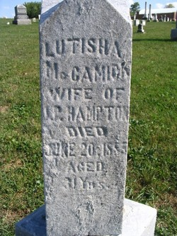 Lutisha <i>McCamick</i> Hampton