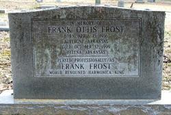 Frank Otis Frost
