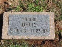 Fannie A. <i>Taylor</i> Davis