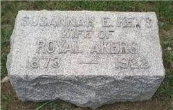 Susannah E <i>Keys</i> Akers