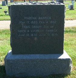 Martha Barrick